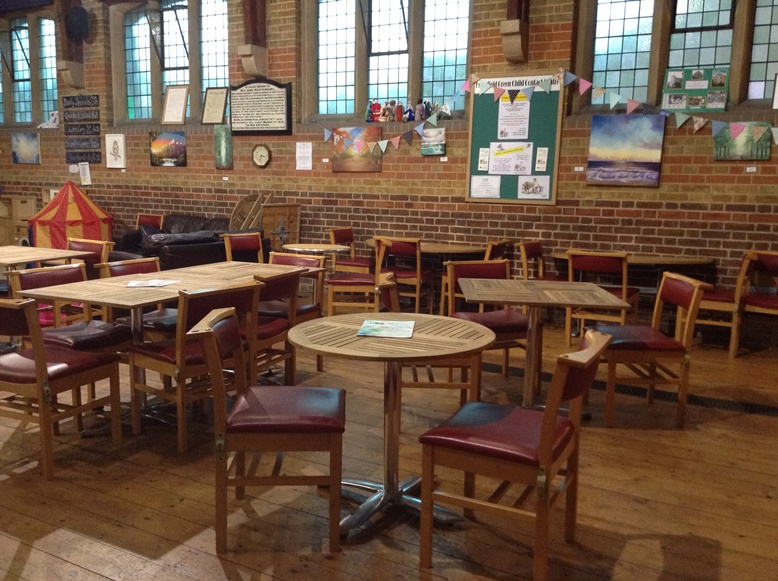 New tables for the Village Centre Cafe