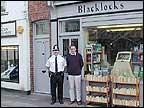 Local shopkeeper Graham Dennis