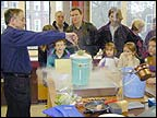 You shouldn't do this experiment at home - learning about a very cold liquid!