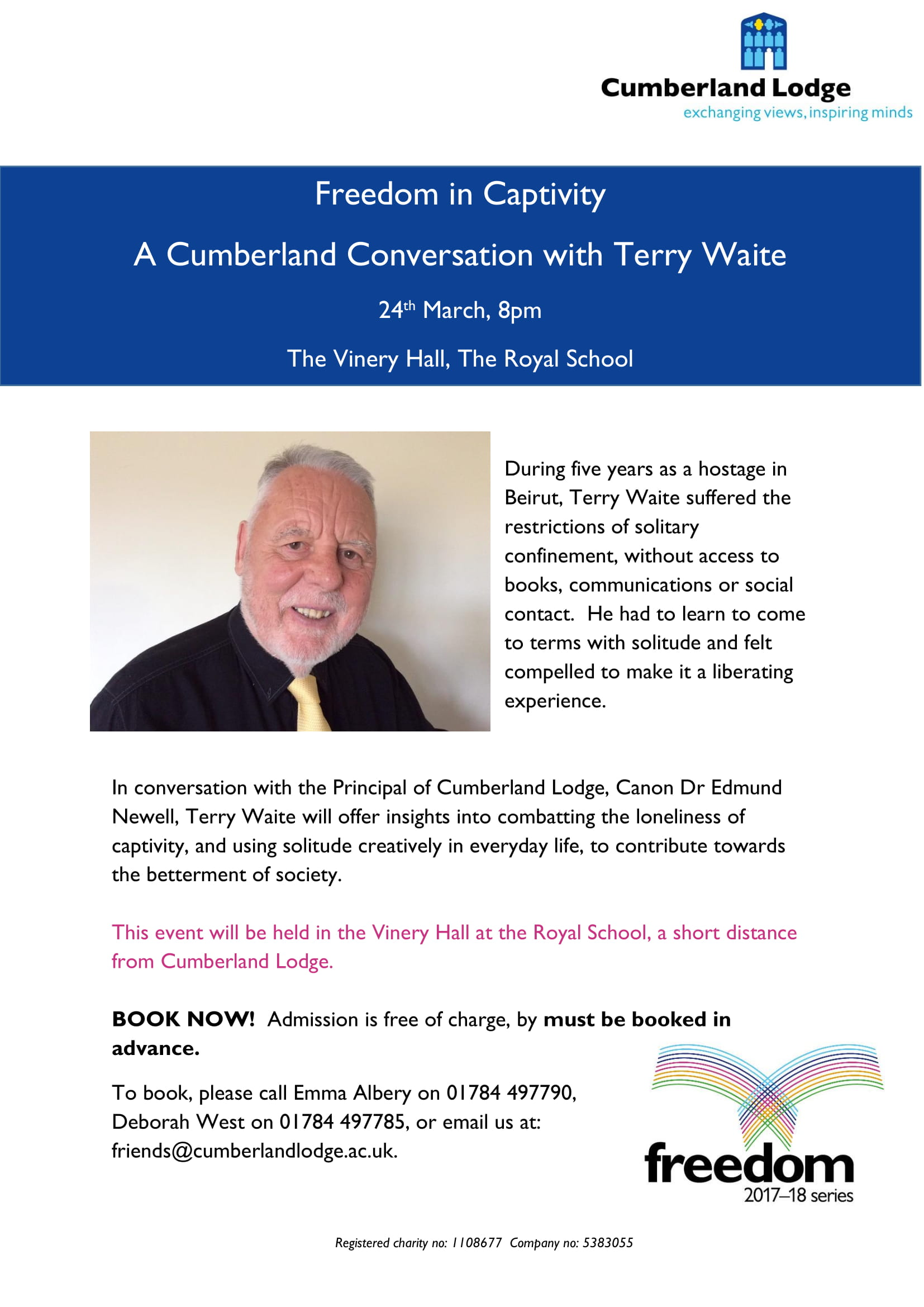 Cumberland Conversation with Terry Waite