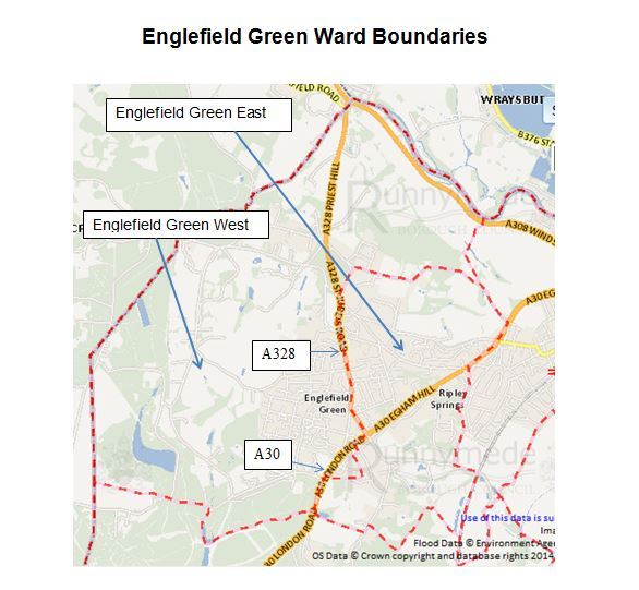 EnglefieldGreenWardBounderies